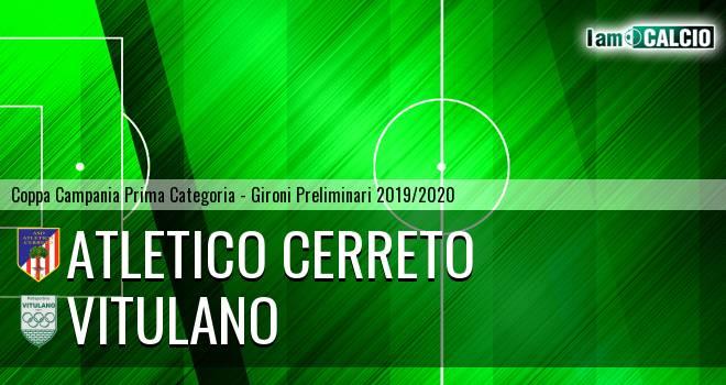 Atletico Cerreto - Vitulano