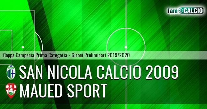 San Nicola Calcio 2009 - Maued Sport