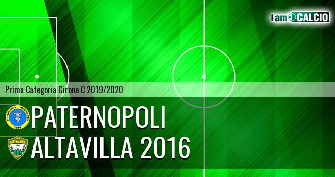 Paternopoli - Altavilla 2016
