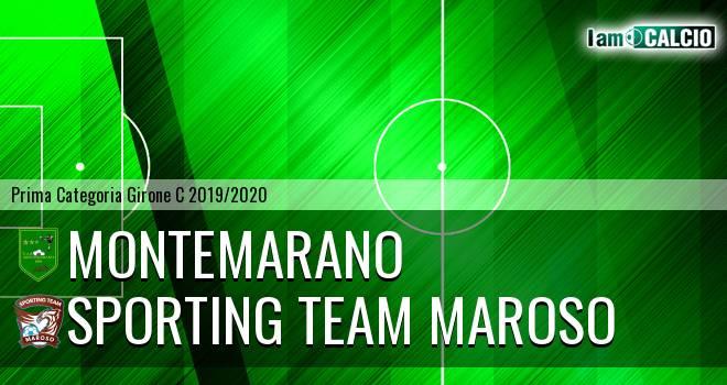 Montemarano - Sporting Team Maroso
