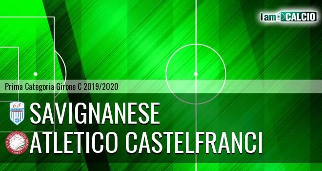 Savignanese - Atletico Castelfranci