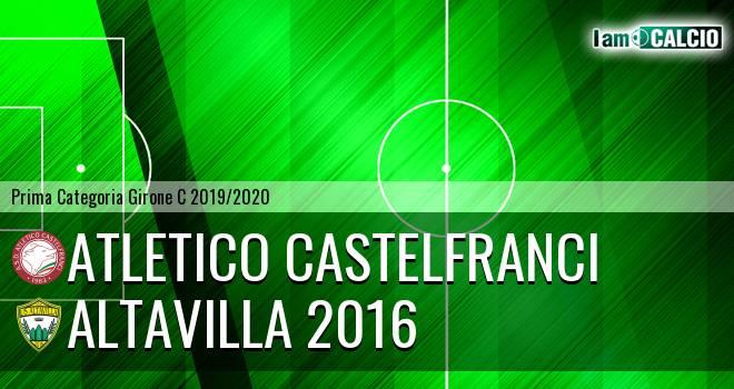 Atletico Castelfranci - Altavilla 2016