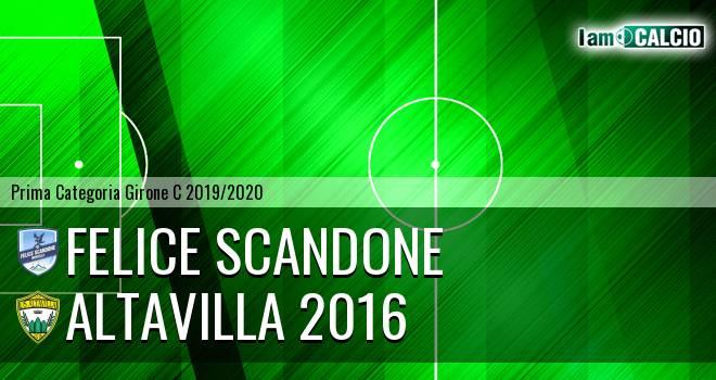 Felice Scandone - Altavilla 2016