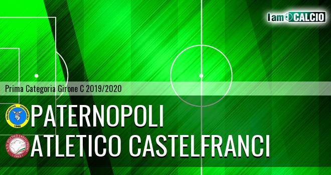 Paternopoli - Atletico Castelfranci
