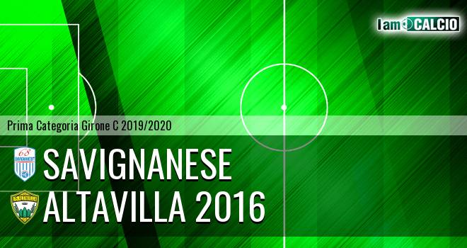 Savignanese - Altavilla 2016