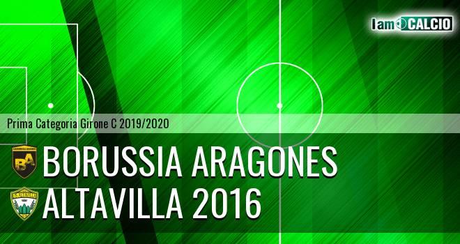 Borussia Aragones - Altavilla 2016