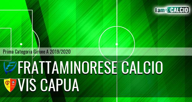 Frattaminorese Calcio - Vis Capua