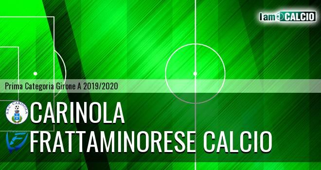 Carinola - Frattaminorese Calcio