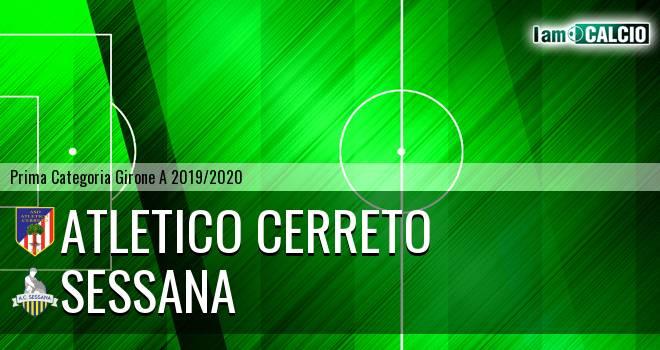 Atletico Cerreto - Sessana