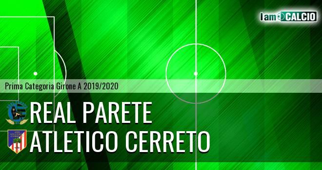 Virtus Liburia Parete - Atletico Cerreto