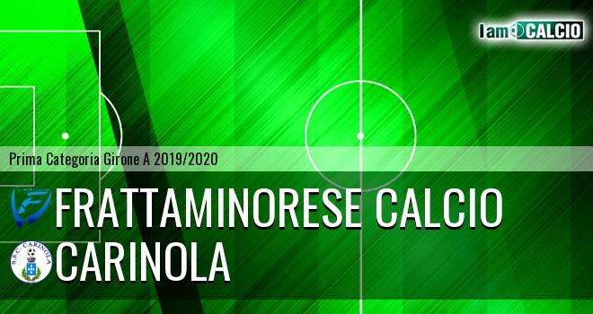 Frattaminorese Calcio - Carinola