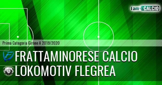 Frattaminorese Calcio - Lokomotiv Flegrea