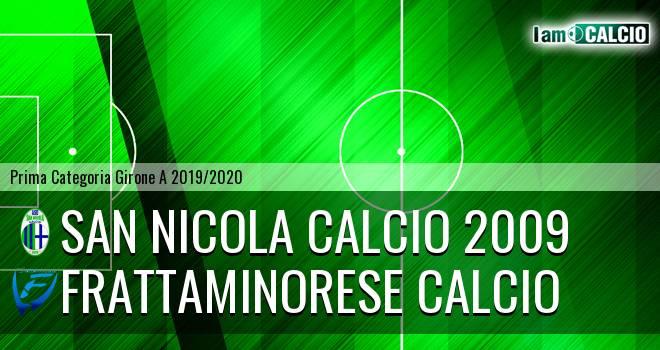 San Nicola Calcio 2009 - Frattaminorese Calcio