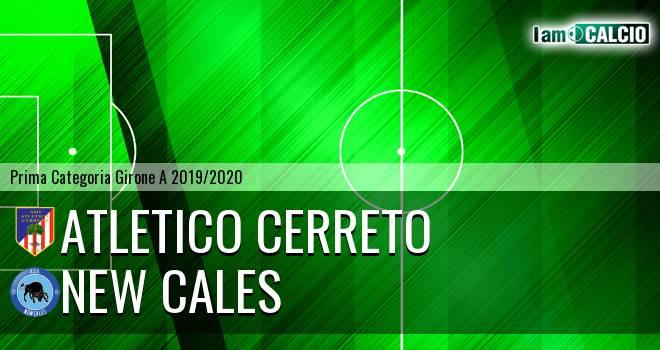 Atletico Cerreto - New Cales