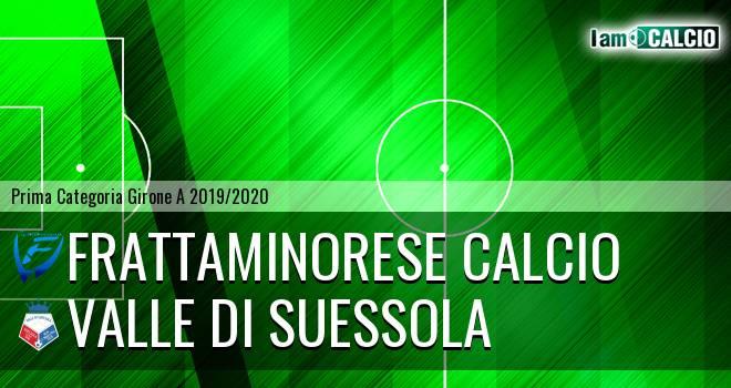 Frattaminorese Calcio - Valle di Suessola