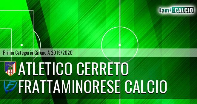 Atletico Cerreto - Frattaminorese Calcio