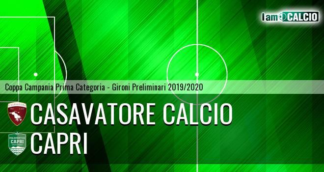 Casavatore Calcio - Capri