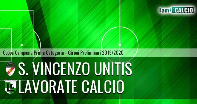 S. Vincenzo Unitis - Lavorate Calcio