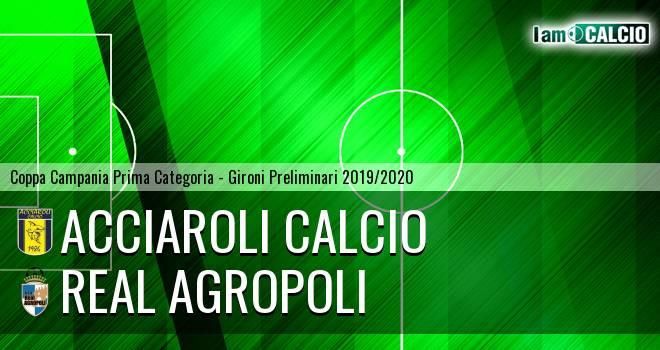 Acciaroli calcio - Real Agropoli