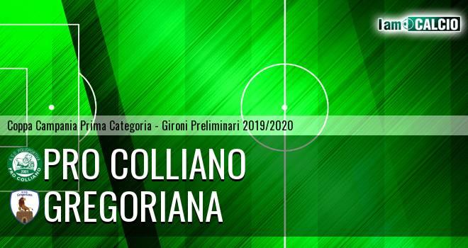 Pro Colliano - Gregoriana