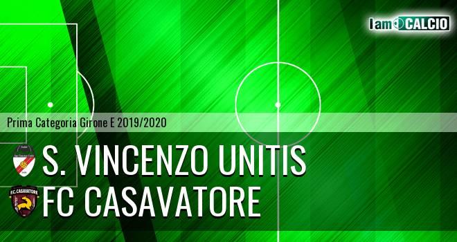 S. Vincenzo Unitis - FC Casavatore