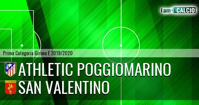 Athletic Poggiomarino - San Valentino