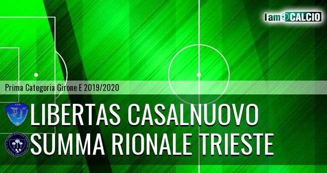 Libertas Casalnuovo - Summa Rionale Trieste