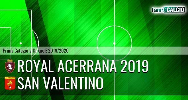 Royal Acerrana 2019 - San Valentino