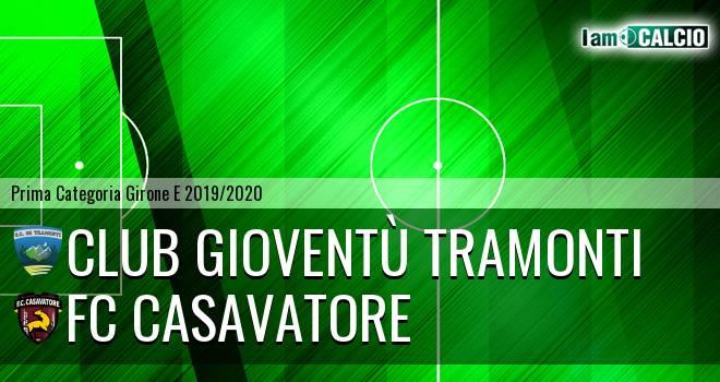 Club Gioventù Tramonti - FC Casavatore