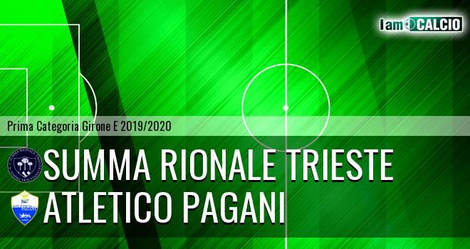 Summa Rionale Trieste - Atletico Pagani