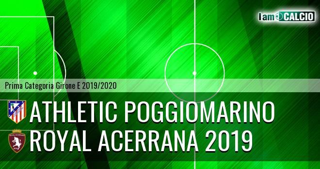 Athletic Poggiomarino - Royal Acerrana 2019