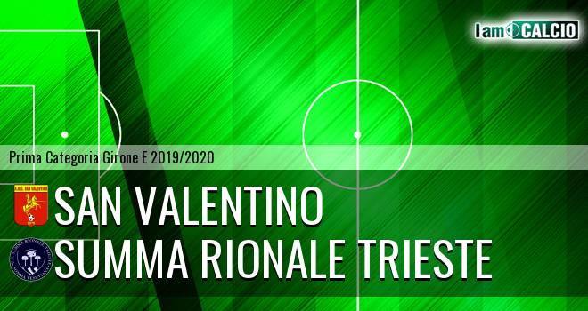 San Valentino - Summa Rionale Trieste