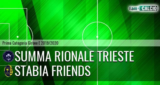 Summa Rionale Trieste - Stabia friends
