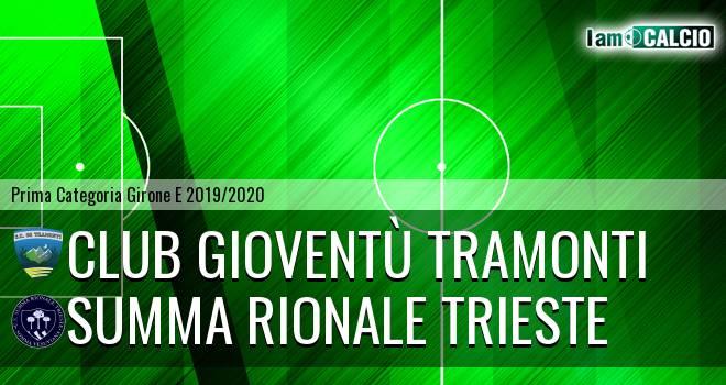 Club Gioventù Tramonti - Summa Rionale Trieste