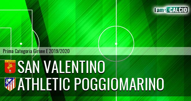 San Valentino - Athletic Poggiomarino