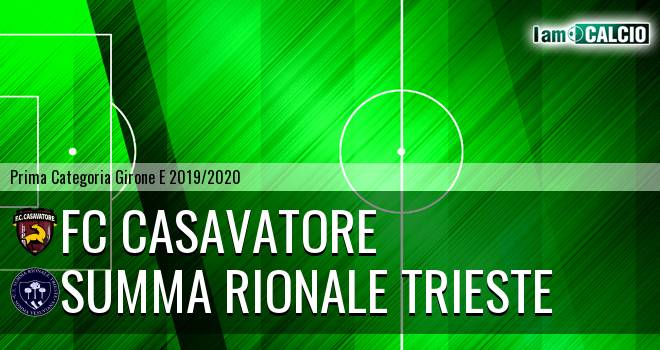 FC Casavatore - Summa Rionale Trieste