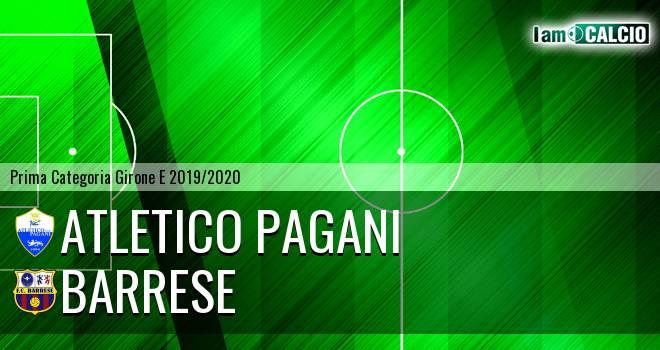 Atletico Pagani - Barrese