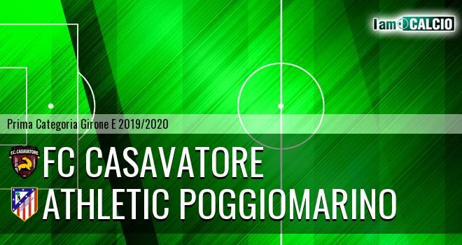 FC Casavatore - Athletic Poggiomarino