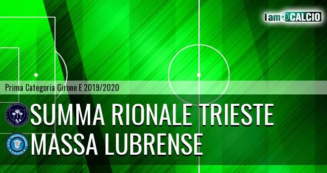 Summa Rionale Trieste - Massa Lubrense