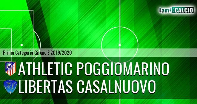 Athletic Poggiomarino - Fc Casalnuovo