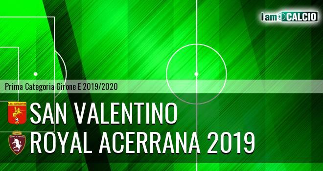 San Valentino - Royal Acerrana 2019