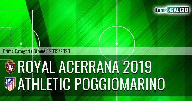 Royal Acerrana 2019 - Athletic Poggiomarino