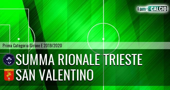Summa Rionale Trieste - San Valentino