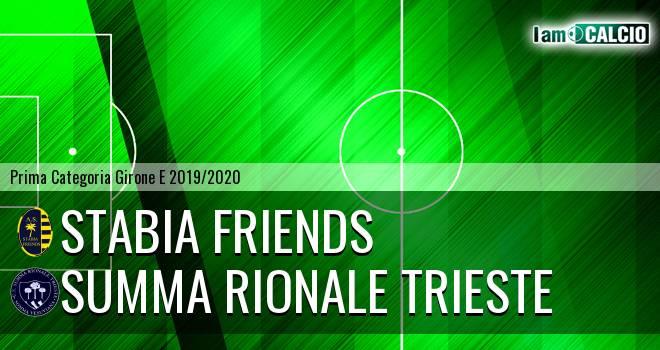 Stabia friends - Summa Rionale Trieste