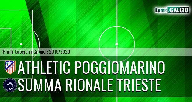 Athletic Poggiomarino - Summa Rionale Trieste