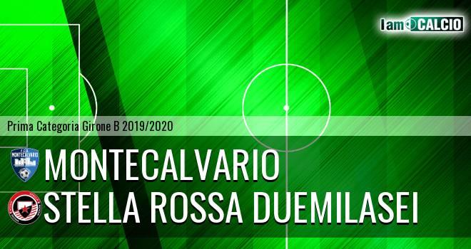 Montecalvario - Stella Rossa Duemilasei