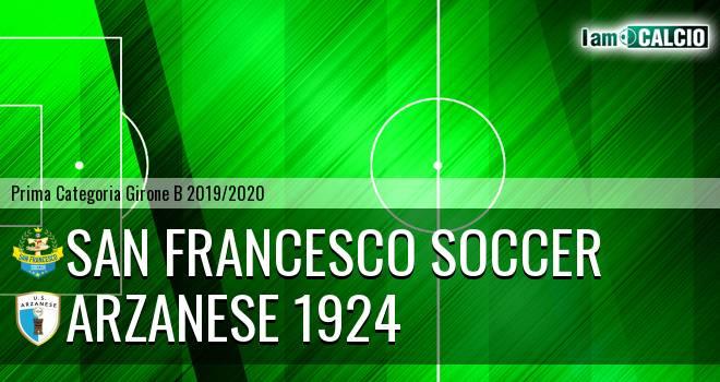 San Francesco Soccer - Arzanese 1924
