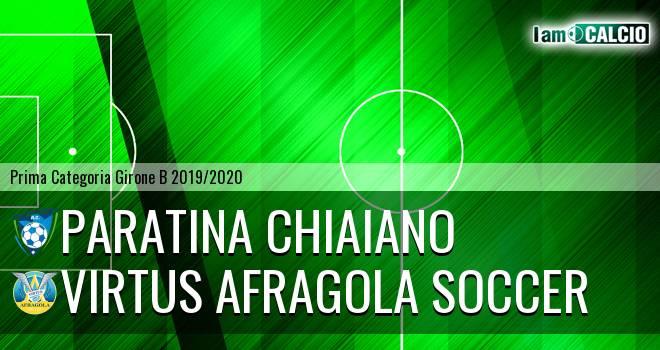 Paratina Chiaiano - Virtus Afragola Soccer