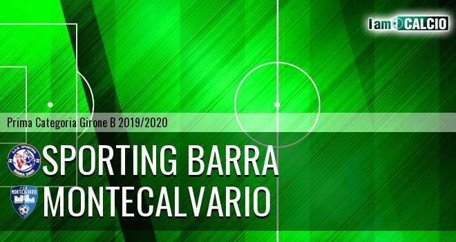 Sporting Barra - Montecalvario