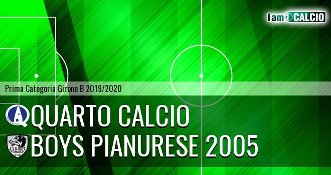 Quarto Calcio - Boys Pianurese 2005
